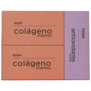 GOAH CLINIC COLÁGENO MARINO + ANTIOXIDANTE NOCHE PACK 2+1 REGALO