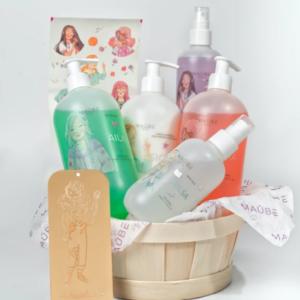 MAÛBE Cesta Higiene Cosmética Infantil